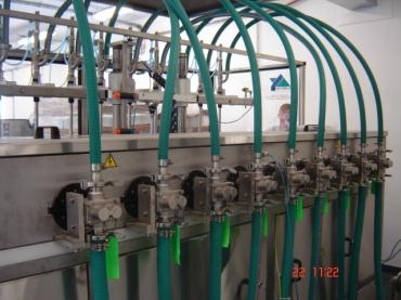 Fogaskerék szivattyús töltőgép